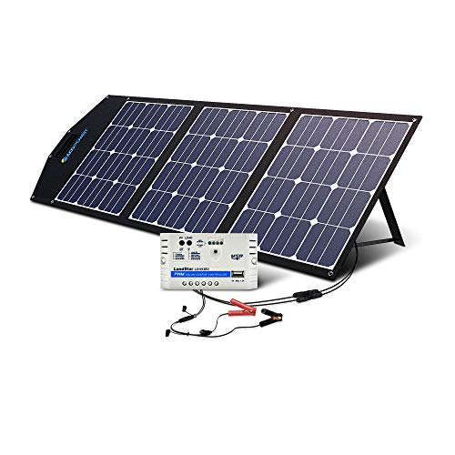 ACOPOWER 12V 105W Solar Panel Kit w 10A...