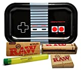 Bundle - 5 Items - RAW King Size Supreme, 110 Roller and Pre-Rolled Tips with Rolling Paper Depot...