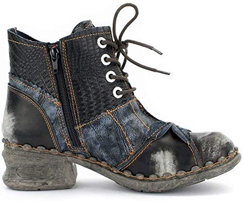 TMA Damen Boots, Perlschwarz - 37