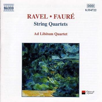 Faure / Ravel: String Quartets