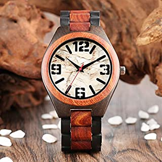 Best Quality Luxury Watches Men Unique Marble Dial Wooden Quartz Watch Man Sport 100, Designer Woman Watches - Large Wall Clocks, Womens Watches Small Face, Hexagon Watch, Watch Designer, Faux Column