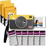 Kodak Mini Shot 2 Retro Cámara Instantánea e Impresora Fotográfica Inalámbrica Portátil,...