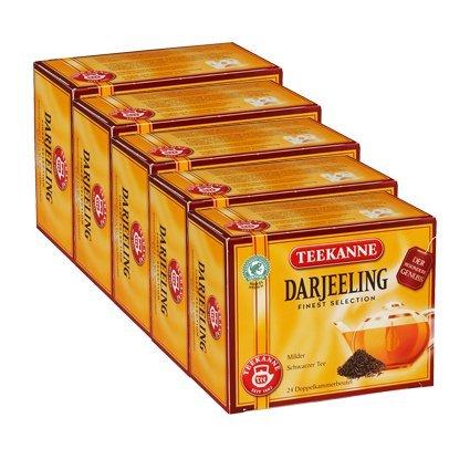 Teekanne Darjeeling Finest Selection 5er Pack