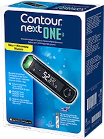 Bayer Contour Next ONE Glucose Monitoring System
