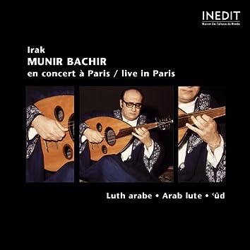 Irak : Munir Bachir Concert Live à Paris (Arab Lute)