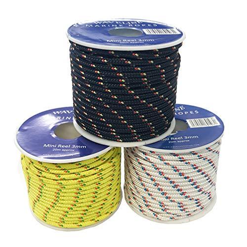 Waveline 3mm Polyester Mini Reels - 20m