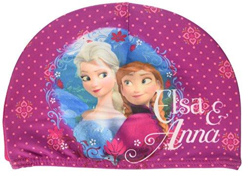 Frozen Disney Cuffia Bambina in Tessuto Elasticizzato Piscina Mare Elsa e Anna Prodotto Originale Novità
