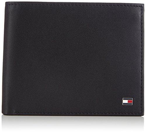 Tommy Hilfiger Eton Trifold, Portefeuille Homme - Noir (Black 990), 13x10x3 cm (B x H x T)