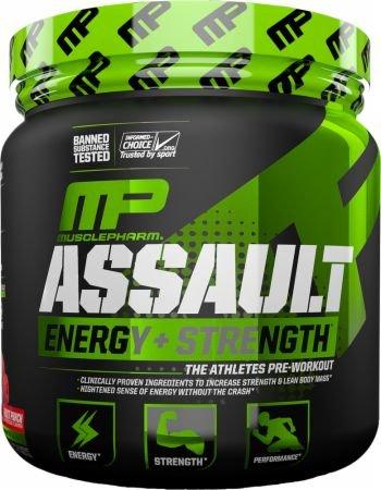 Musclepharm Assault Sport 345g - Energy & Strength Pre -Workout (Blue Raspberry)