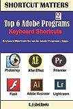 Top 6 Adobe Programs Keyboard Shortcuts.: Volume 29 (Shortcut Matters)