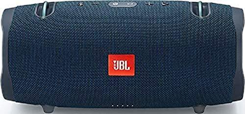 JBL Xtreme 2 Musikbox - Wasserdichter, portabler Stereo Bluetooth Speaker mit integrierter Powerbank - Mit nur einer Akku-Ladung bis zu 15 Stunden Musikgenuss Blau