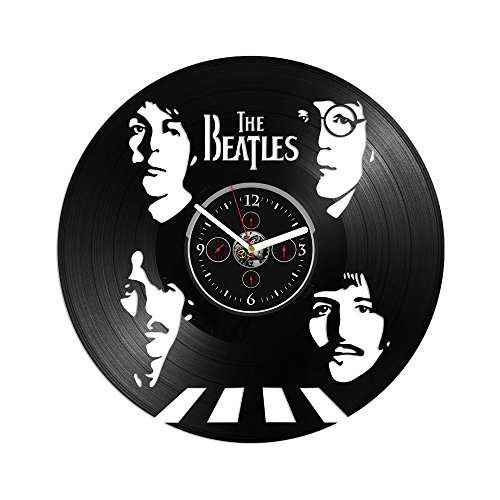 RainbowClocks The Beatles Record Clock Beatles Vinyl Wall Clock Beatles Gift Beatles Clock Gift For Man 12 inch Clock Vinyl Wall Clock Beatles Clock Beatles Gift For Dad Vinyl Record Wall Clock