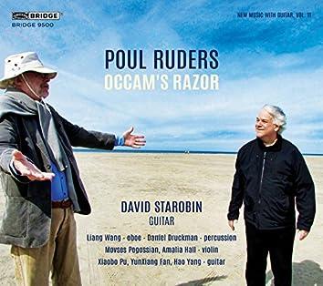 New Music with Guitar, Vol. 11: Poul Ruders – Occam's Razor
