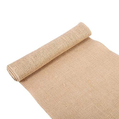 Tela arpillera para tapicería Estilo de la Naturaleza de la Vendimia, Arpillera de la Tela de Lino, arpillera para la decoración de hogar (30cm*2m)