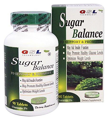 GSL Sugar Balance Tablets (2 Bottles Pack)