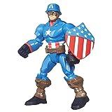 Marvel Super Hero Mashers Captain America Figure by