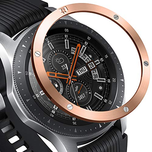 Ringke Bezel Styling per Galaxy Watch [46mm] / Galaxy Gear S3 Frontier & Classic Bezel Ring Copertina AntiGraffio Protezione - [Stainless] GW-46-41