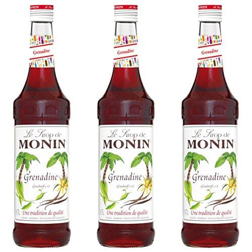 Monin Sirup Grenadine, 0,7L 3er Pack