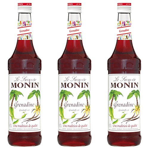 Monin Sirup Grenadine, 0,7L 3er Pack