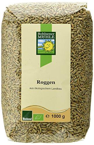 Bohlsener Mühle Roggen, 10er Pack (10 x 1000 g ) - Bio