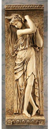 22' French Water Maiden Wall Sculpture Décor Frieze TR