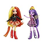 Hasbro My Little Pony Equestria Girls Sunset Shimmer And Twilight Sparkle Figure