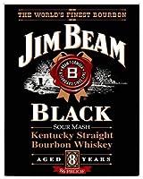 なまけ者雑貨屋 Jim Beam Black Label お部屋を飾る インテリア アート デザイン ボード