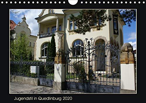 Jugendstil in Quedlinburg (Wandkalender 2020 DIN A4 quer): Monatskalender 2020 (Monatskalender, 14 Seiten ) (CALVENDO Orte)
