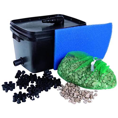 Ubbink Teichfilter-Set Teichpumpe Fischteich Filter FiltraPure 2000 16 L 1355965