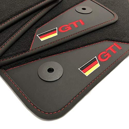 Extra Premium Mats Alfombrillas Coche Volkswagen Golf 5 (2004-2008) Acabado GTI | Rey Alfombrillas®