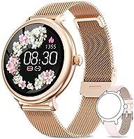 AIMIUVEI Smartwatch Damen,Fitness Tracker IP68 Wasserdicht Smart Watch mit Aktivitätstracker