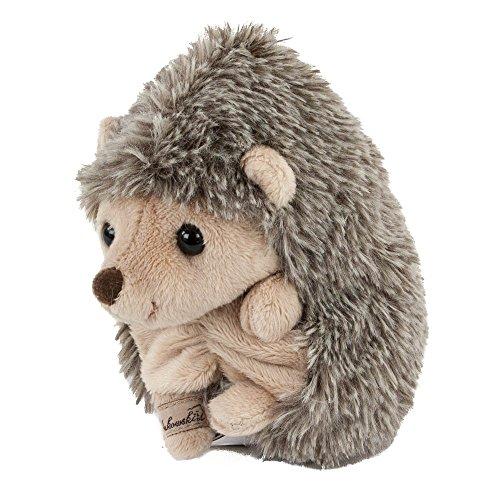 Bukowski Kuscheltier Igel Baby Hubert, 9 cm, sitzend, braun Plüschigel Kuscheligel