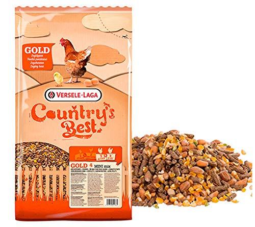 FINCA CASAREJO Pienso para gallinas Gold 4 Mini Mix - Saco de 20kg - Vérsele-Laga