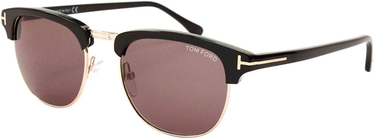 Tom Ford Sunglasses 5% OFF - Henry Frame: Rose Black Boston Mall with Gold Shiny