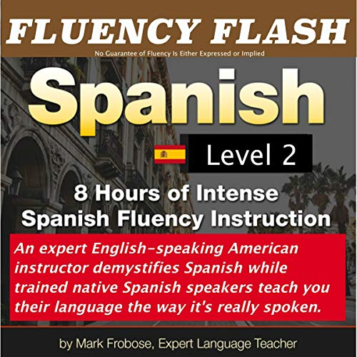 Fluency Flash Spanish, Level 2 (English and Spanish Edition) Titelbild