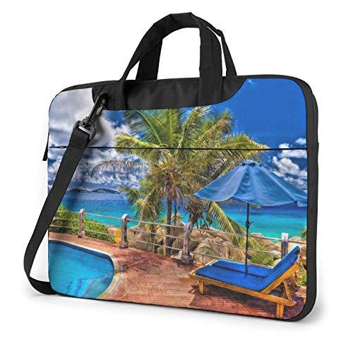 XCNGG Bolso de hombro Computer Bag Laptop Bag, Wild Words Business Briefcase Protective Bag Cover for Ultrabook, MacBook, Asus, Samsung, Sony, Notebook 14 inch