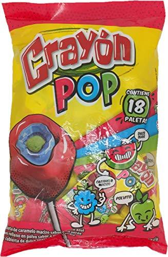 Crayon Pops 18 pieces (340 grams/ 12oz)