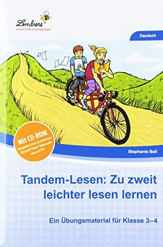 Tandem-Lesen: Zu zweit leichter lesen lernen (Set): Grundschule, Deutsch, Klasse 3-4