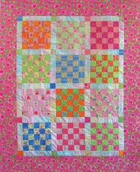25-patch Quilt Pattern By 4th & 6th Designs (Barbara Persing and Mary Hoover)