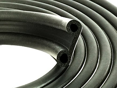 ESI Super Cap Seal 20 FT (1 1/2' Width x 1/2' Height x 20' Length) EPDM Rubber for Caps 200 lbs or less