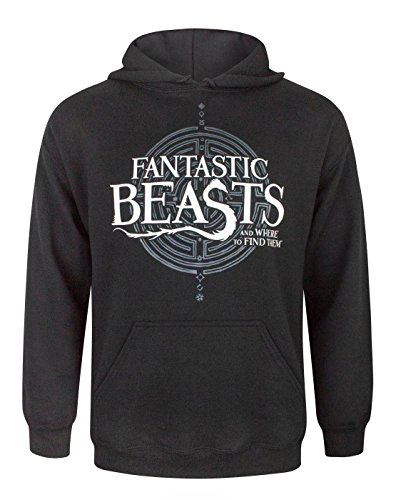 Fantastic Beasts And Where To Find Them Logo Mens Hoodie S