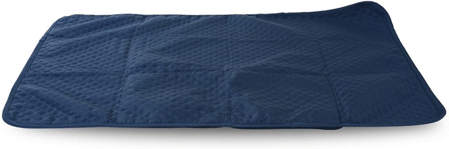 Huangyingui Dog Cooling Mat Medium, NonToxic Gel Self Cooling Pad for Animals In Hot Summer (Dimensione: L25 *28 * 2.5cm)