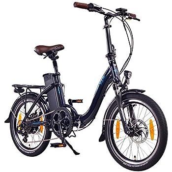 NCM Paris Bicicleta eléctrica Plegable, 250W, Batería 36V 15Ah • 540Wh (Azul): Amazon.es: Deportes y aire libre