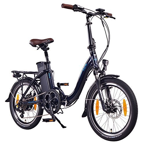 "NCM Paris 20"" E-Bike, E-Faltrad, 36V 15Ah 540Wh Dunkel Blau"