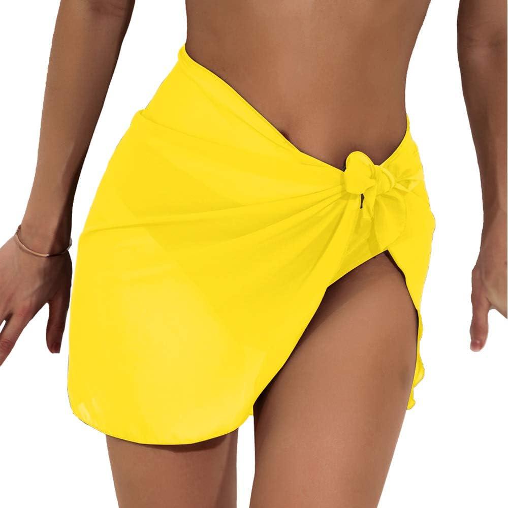 faerdasi Women Beach Cover Up Sarongs Chiffon Bikini Wrap for Swimwear