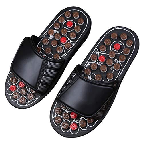 Pantofole Massaggi Pantofole Da Donna, Ciabatte Piedi Massaggiatori Digitopressione Massaggio Pantofole For Donna Uomini, Alleviare Stress Plantare Scarpe Digitopressione Riflessologia Sandals Massagg