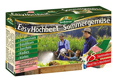 Quedlinburger 2943150 Easy Hochbeet Sommergemüse (Gemüsesamen)