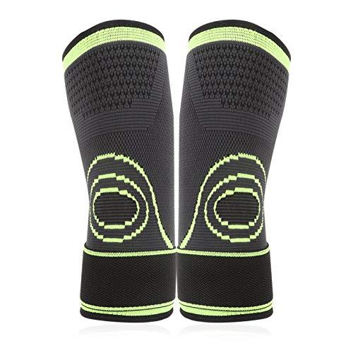 FOLOSAFENAR Soporte de compresión de Codo Codo cómodo Durable Antideslizante, para Baloncesto(L)