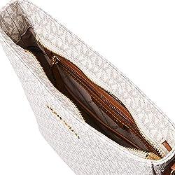 MICHAEL Michael Kors Jet Set Travel Large Messenger Vanilla One Size