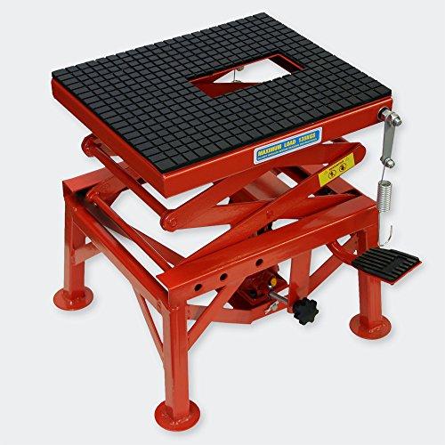 Sollevatore idraulico moto max 135 kg Pedana alzamoto